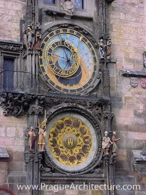 Photograph of The Astronomical Clock